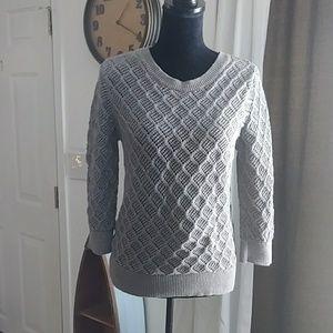 Sparkly LOFT Knit Sweater